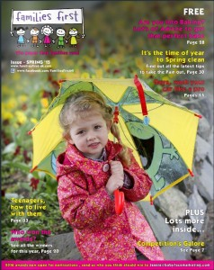 Families First Spring 2015 Front Cover